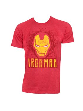 2490dd87 Free shipping. Product Image Iron Man Face Logo Red Tshirt