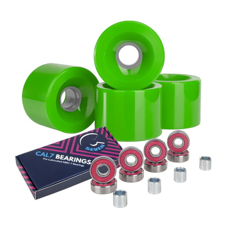 Cal 7 Polyurethane Skateboard Wheels for Street and Park 65x51mm 80A