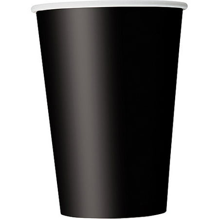 Paper Cups, 12 oz, Black, - Is 12 Oz A Cup