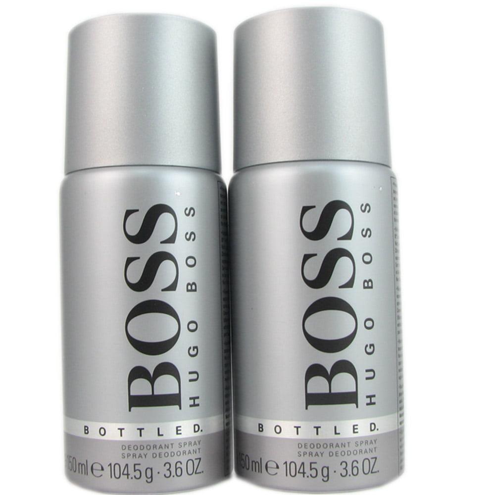 Boss # 6 Men by Hugo Boss 3.5 oz Deo. (two)