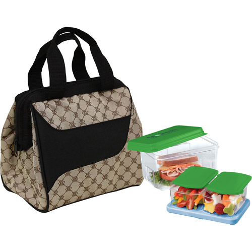 Fit & Fresh Downtown Lunch Kit, Cocoa