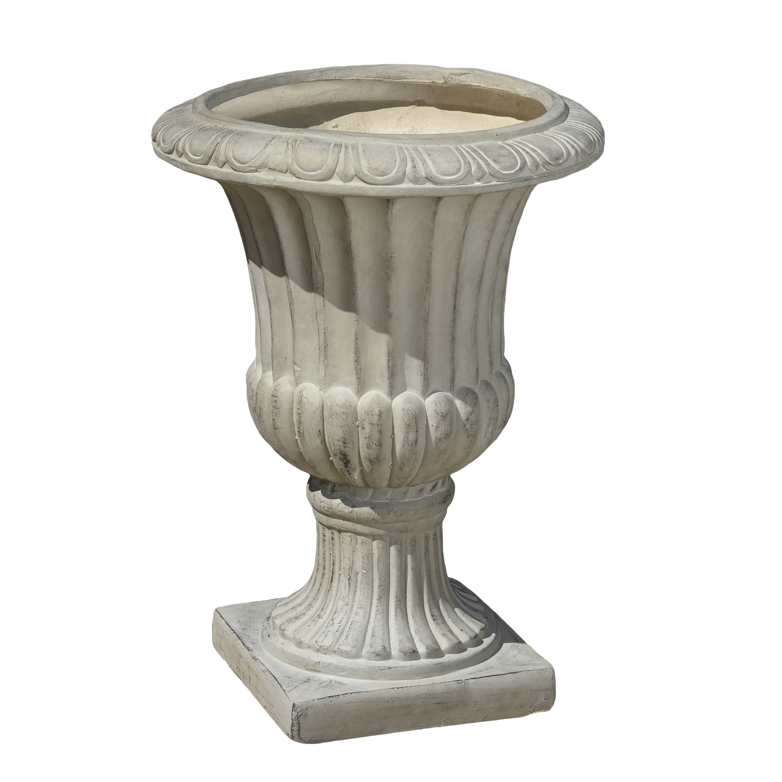 Noble House Antique Green Italian 26-inch Urn Planter by Noble House