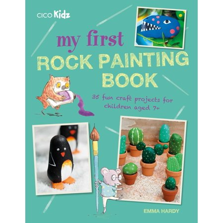 Halloween Projects Printable (My First Rock Painting Book : 35 fun craft projects for children aged)
