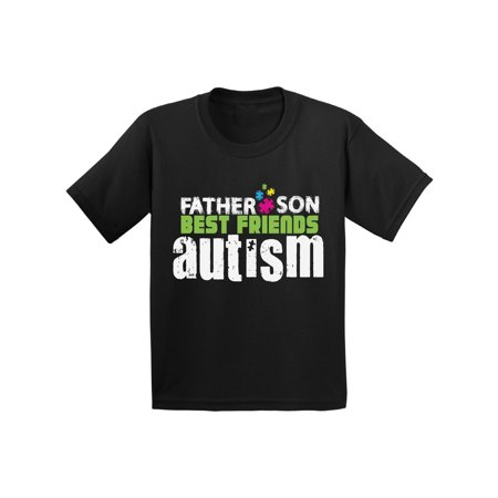 Awkward Styles Father Son Best Friends Autism Toddler Shirt Autism  Awareness Tshirt for Toddler Boys Father Son Gifts Autism T Shirts for Boys  Autism