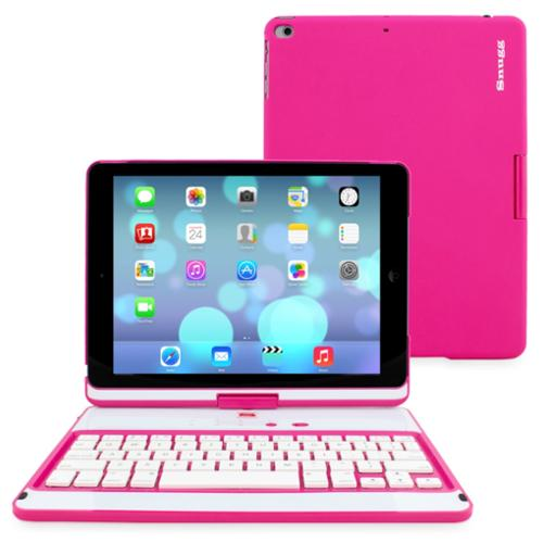 Snugg Hot Pink Hard Pc iPad Air 360 Keyboard