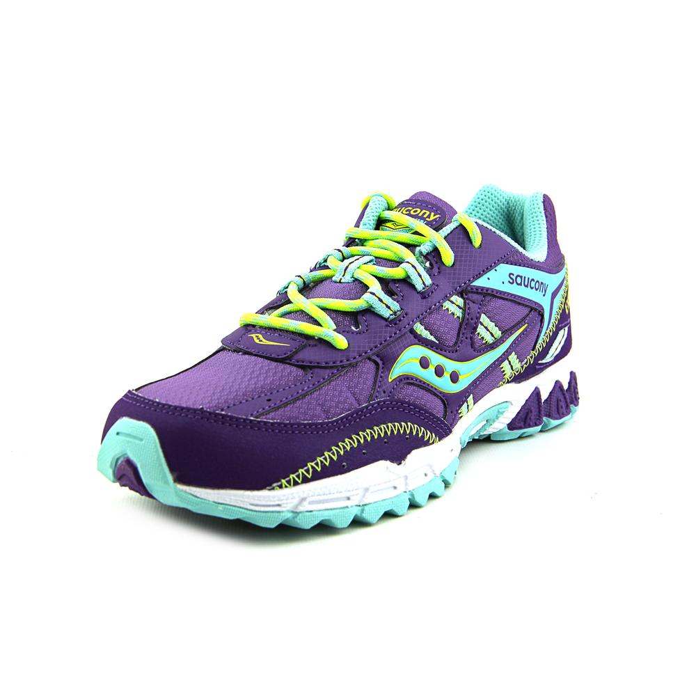 Saucony Excursion Kids Youth US 2.5 Purple Sneakers