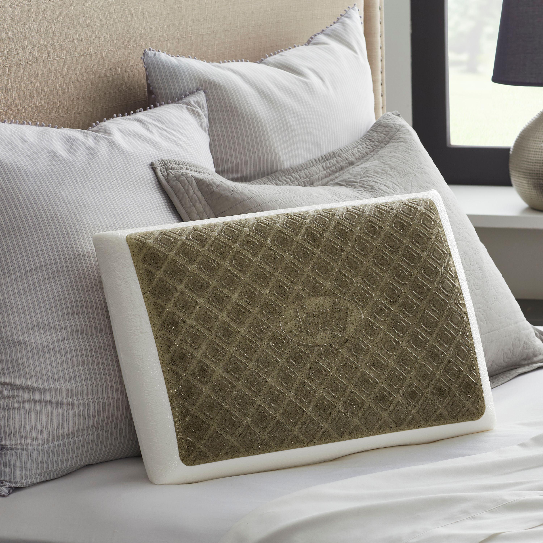 Sealychill Gel Charcoal Memory Foam Bed Pillow Walmart Com Walmart Com
