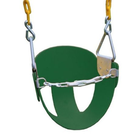 Eastern Jungle Gym High Back Half Bucket Toddler Swing