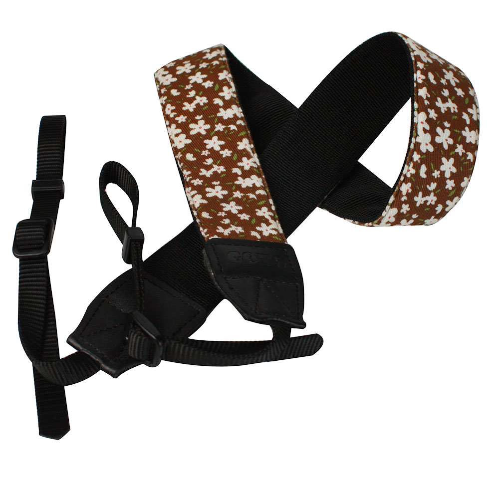 Floral Fabric Universal Adjustable DSLR  Camera Shoulder & Neck  Strap for Nikon, Canon, Sony and many more
