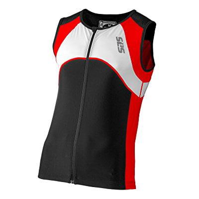 Triathlon SLS3 Men`s FX Tri Top 3 Pockets Full Zipper Jer...