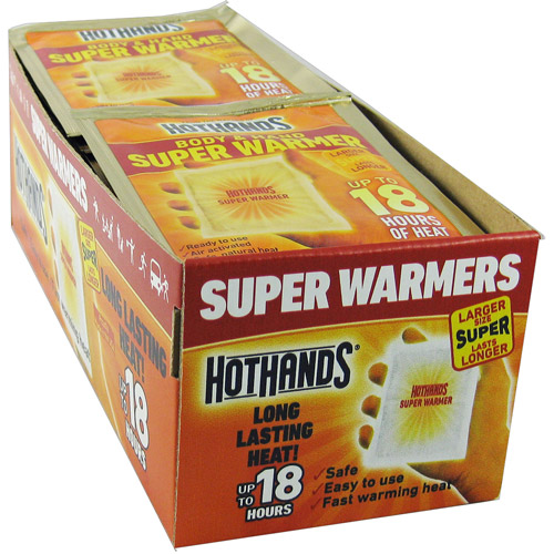 HeatMax Super HotHands Hand & Body Warmers, 40 ct