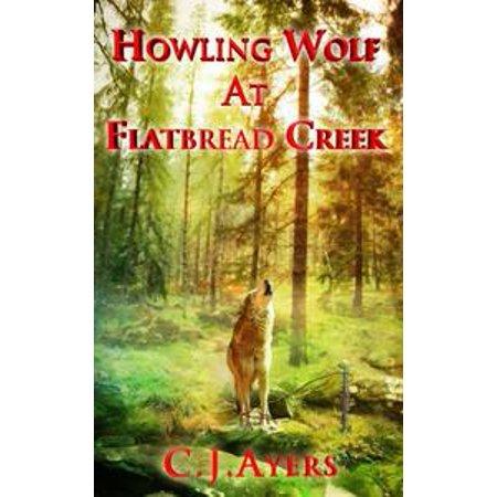 Howling Wolf At Flatbread Creek - - Wolf Howl Halloween