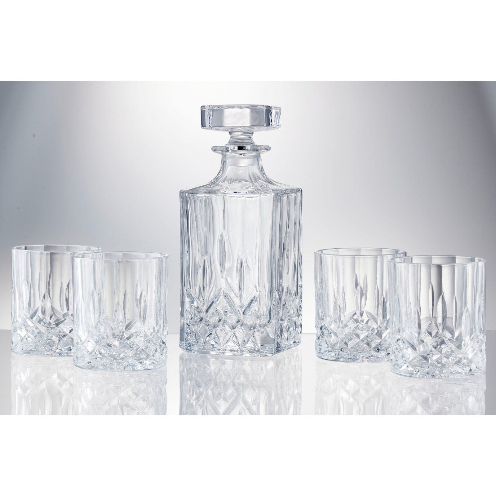 Artland Windsor 5 Piece Decanter Set