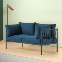 Zinus Amanda Steel Framed Loveseat