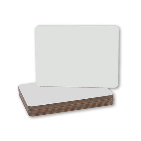 Flipside Dry Erase Lap Board Whiteboard, 9.5'' x 12'' (Portable Dry Erase Board)