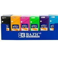 Assorted Color Slider Pencil Case  (Pack of 6)