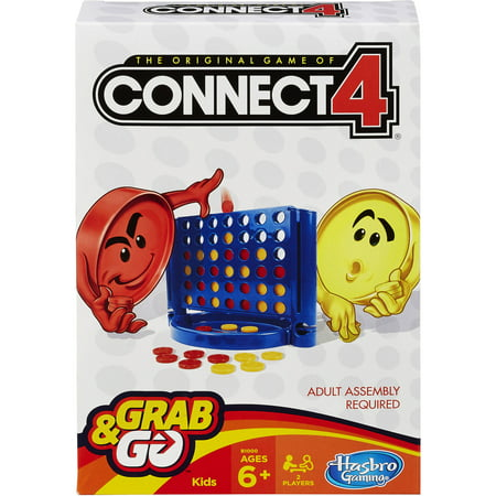 Fun Kid Halloween Games Online (Connect 4 Grab and Go Game; Portable 2-Player Game; Fun Travel Game For Kids Ages 6 and)