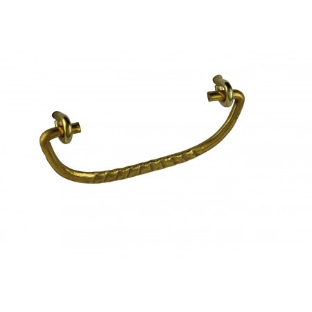 Victorian Brass Handle - Solid Brass Bail Pull Victorian Ribbed | Renovators Supply