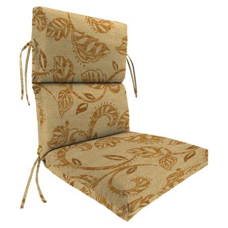 Jordan Manufacturing Sunbrella High Back 22 In Dining Chair Cushion