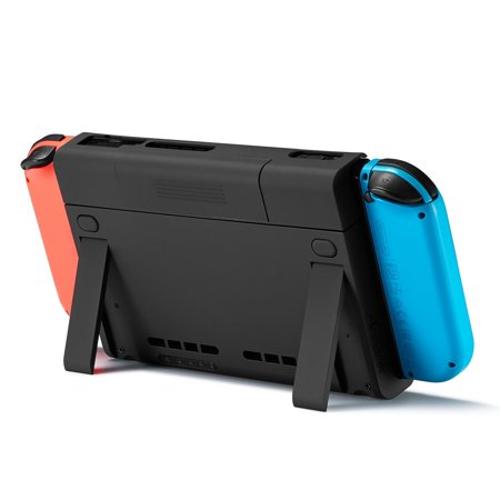 For Nintendo Switch Charge Stand with 6500mAh Battery Case, Antank Portable Battery Case Extended Juice Battery Pack Power Bank with Kick Stand for Nintendo Switch 2017