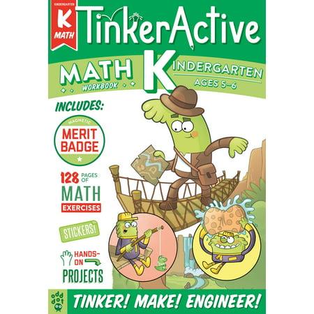 TinkerActive Workbooks: Kindergarten Math - Fun Halloween Math For Kindergarten