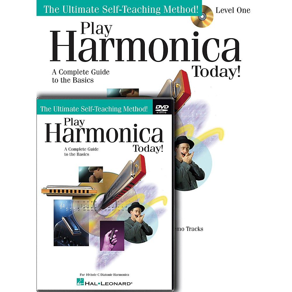 Hal Leonard Play Harmonica Today! Beginner's Pack - Includes Book/CD/DVD