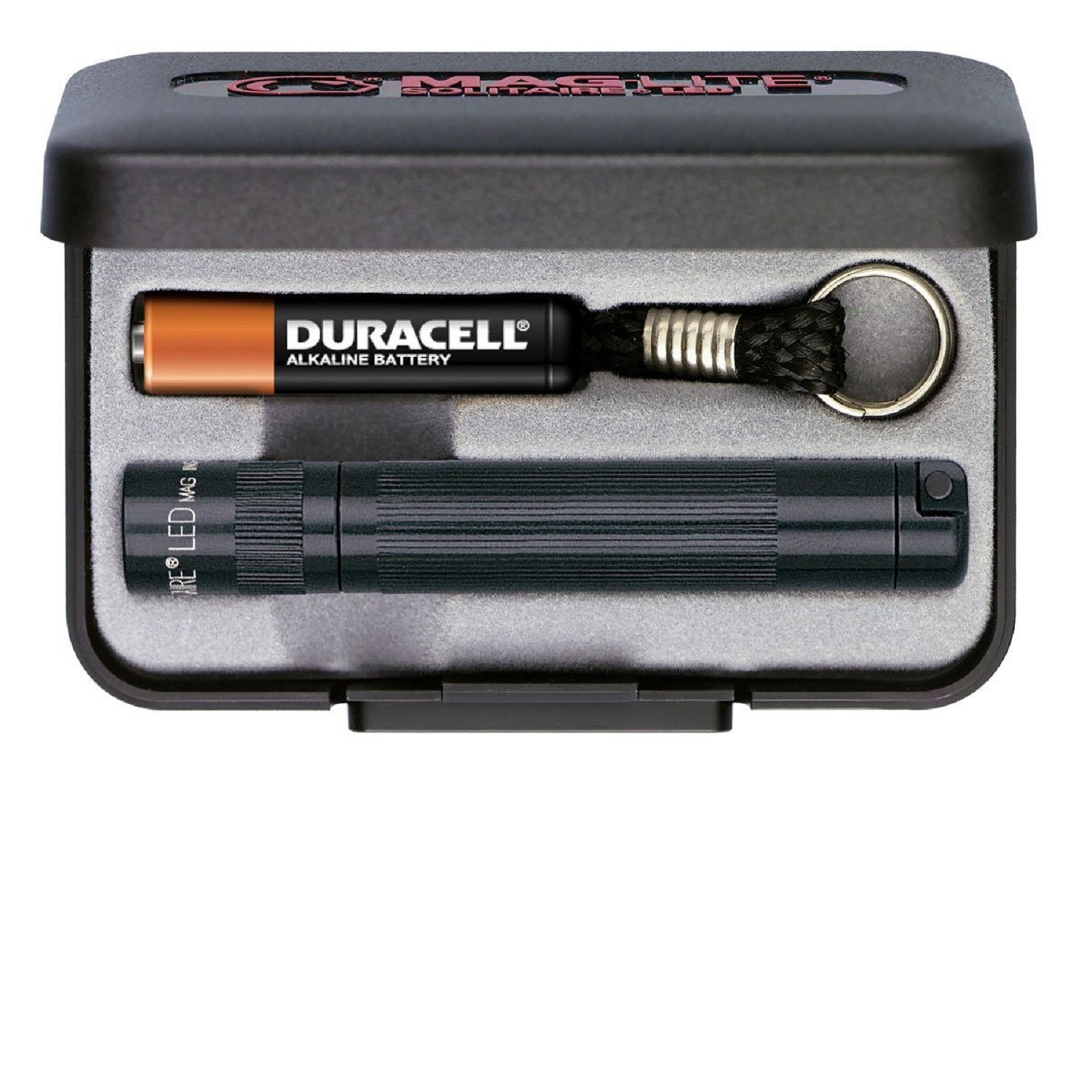 Maglite Solitaire LED AAA Presentation Box Black