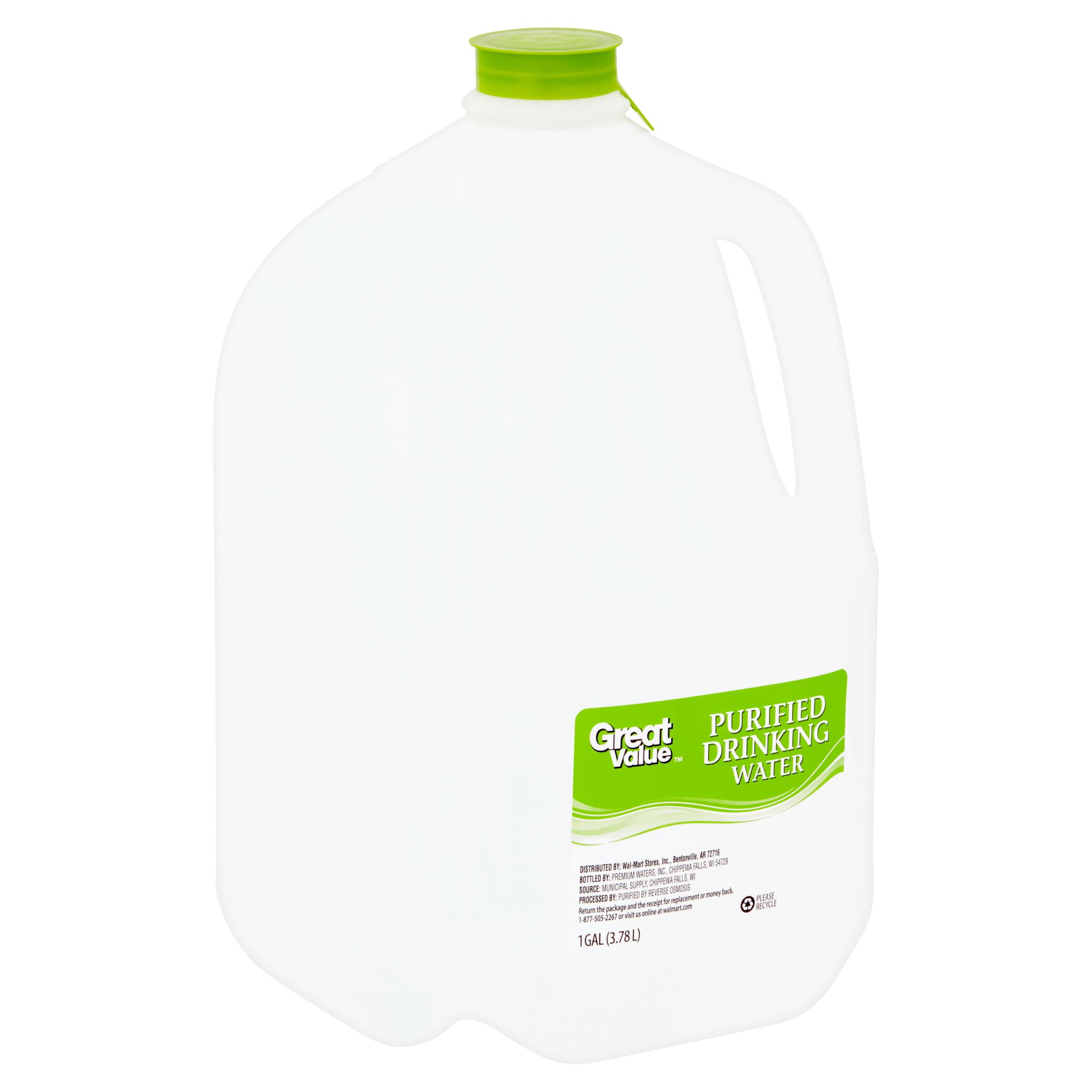 1 Gallon Ultralight Water Pouch 4 Pack 4 Liter
