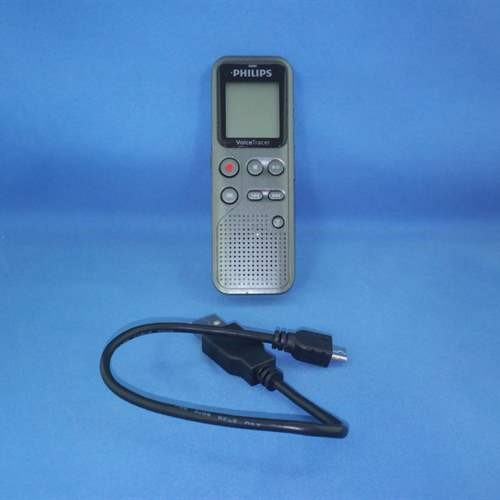 Refurbished Philips DVT1100 4GB Digital Voice Recorder with PC Connection