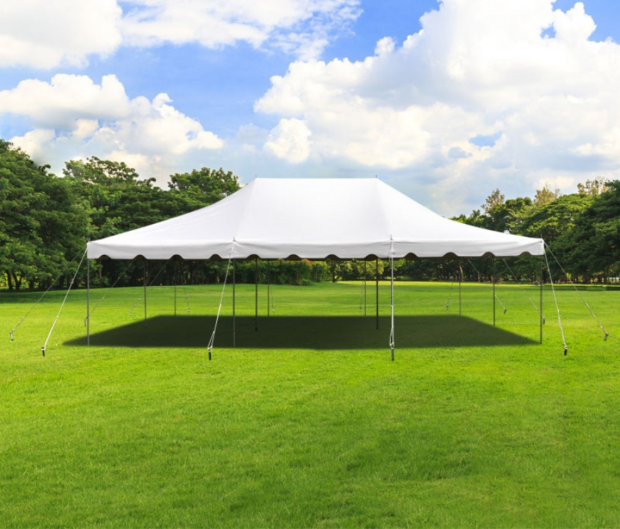 Wedding With White Tent: Party Tents Direct 20x30 White Outdoor Wedding Canopy Pole