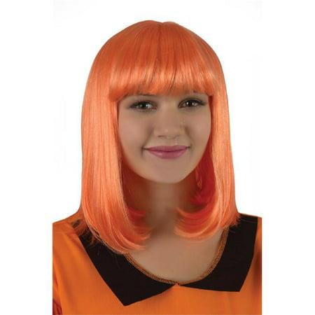 Classic Flapper Wig - Banana And Orange Halloween Treats