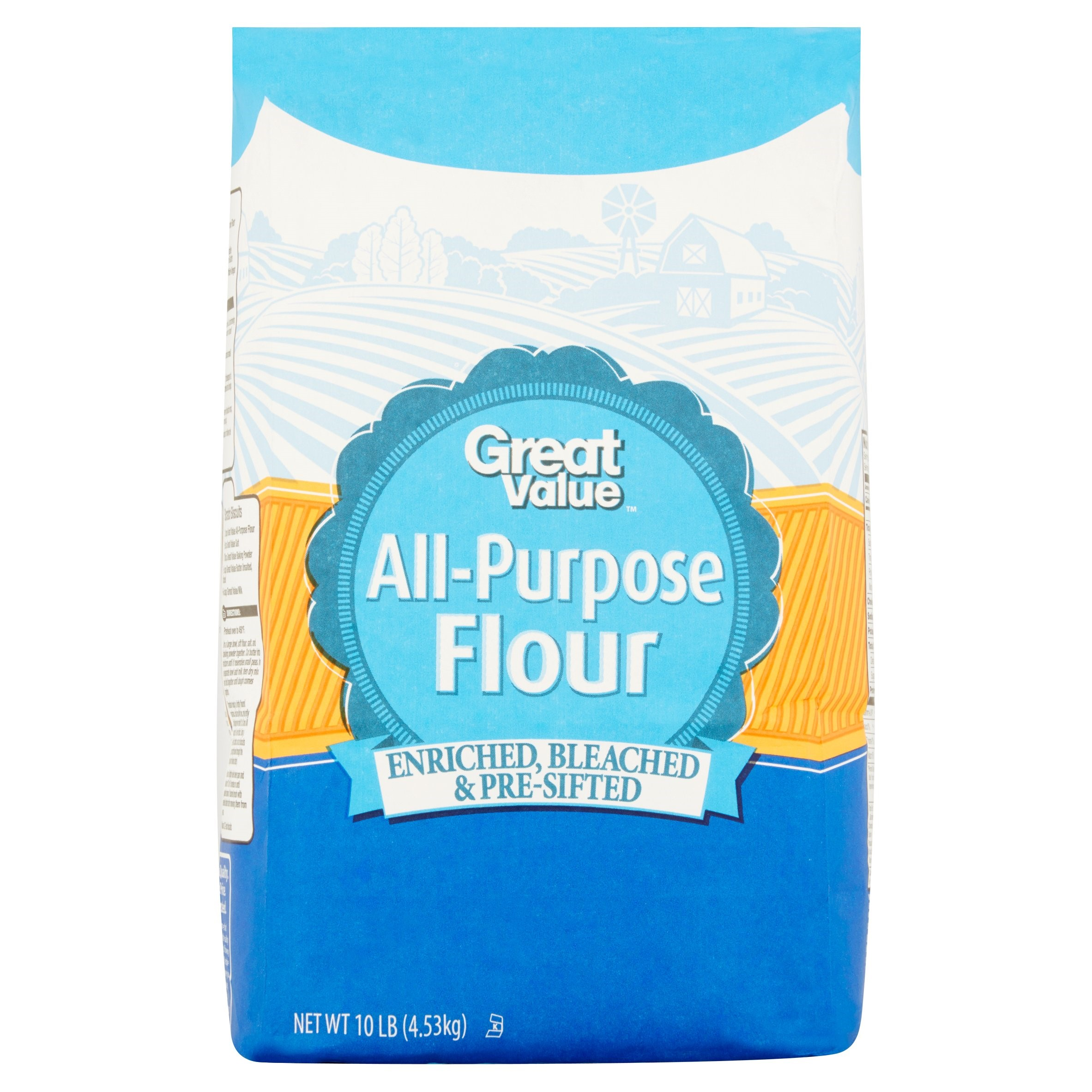 Great Value All Purpose Flour, 160 Oz
