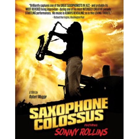 Movies Saxophone (Sonny Rollins: Saxophone Colossus (Blu-ray))