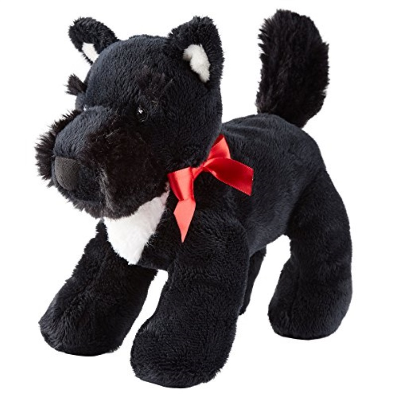 Carter's Scottie Plush Dog, Black