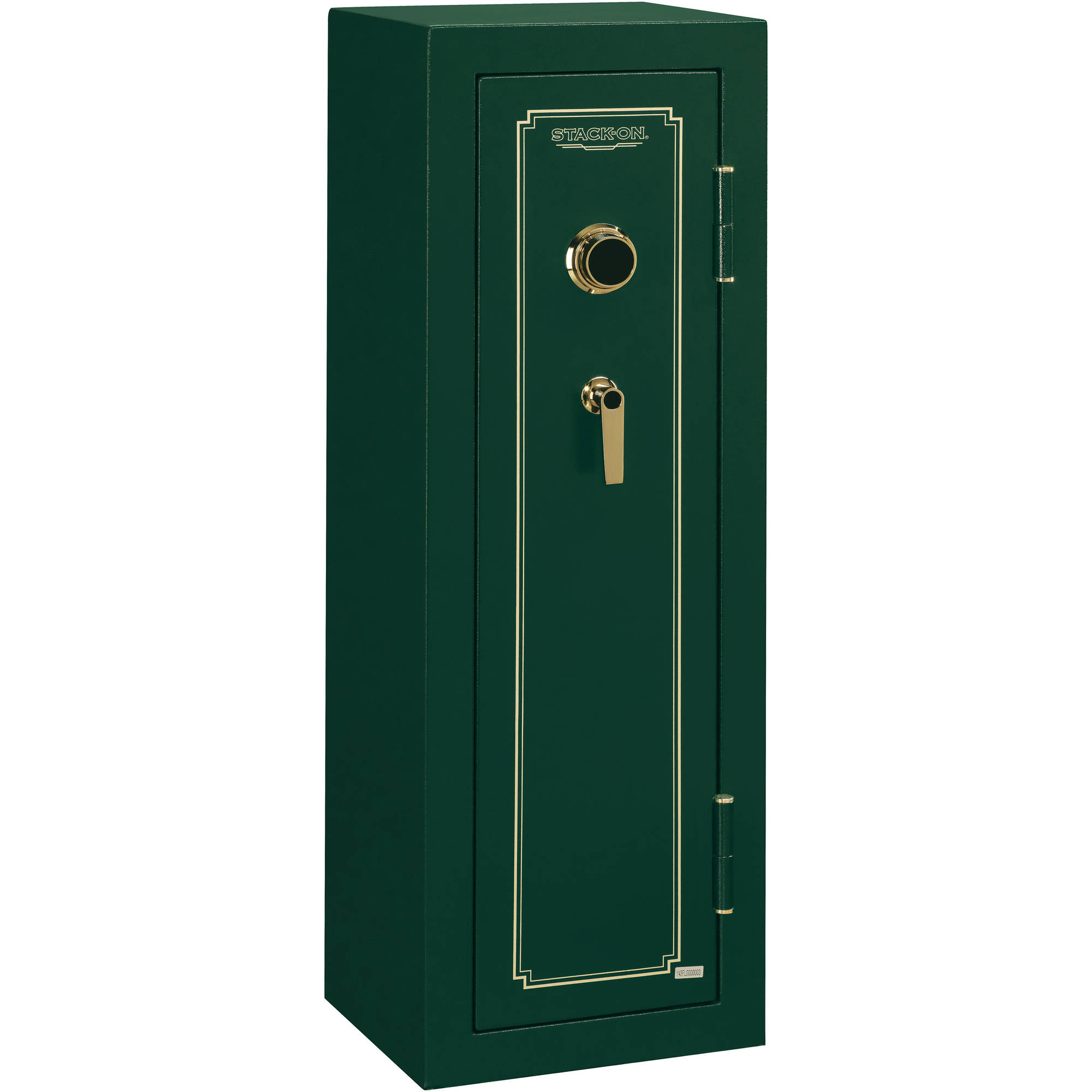 Stack-On 8 Gun Fire Resistant Security Safe with Combination Lock FS-8-MG-C Hunter Green by Generic