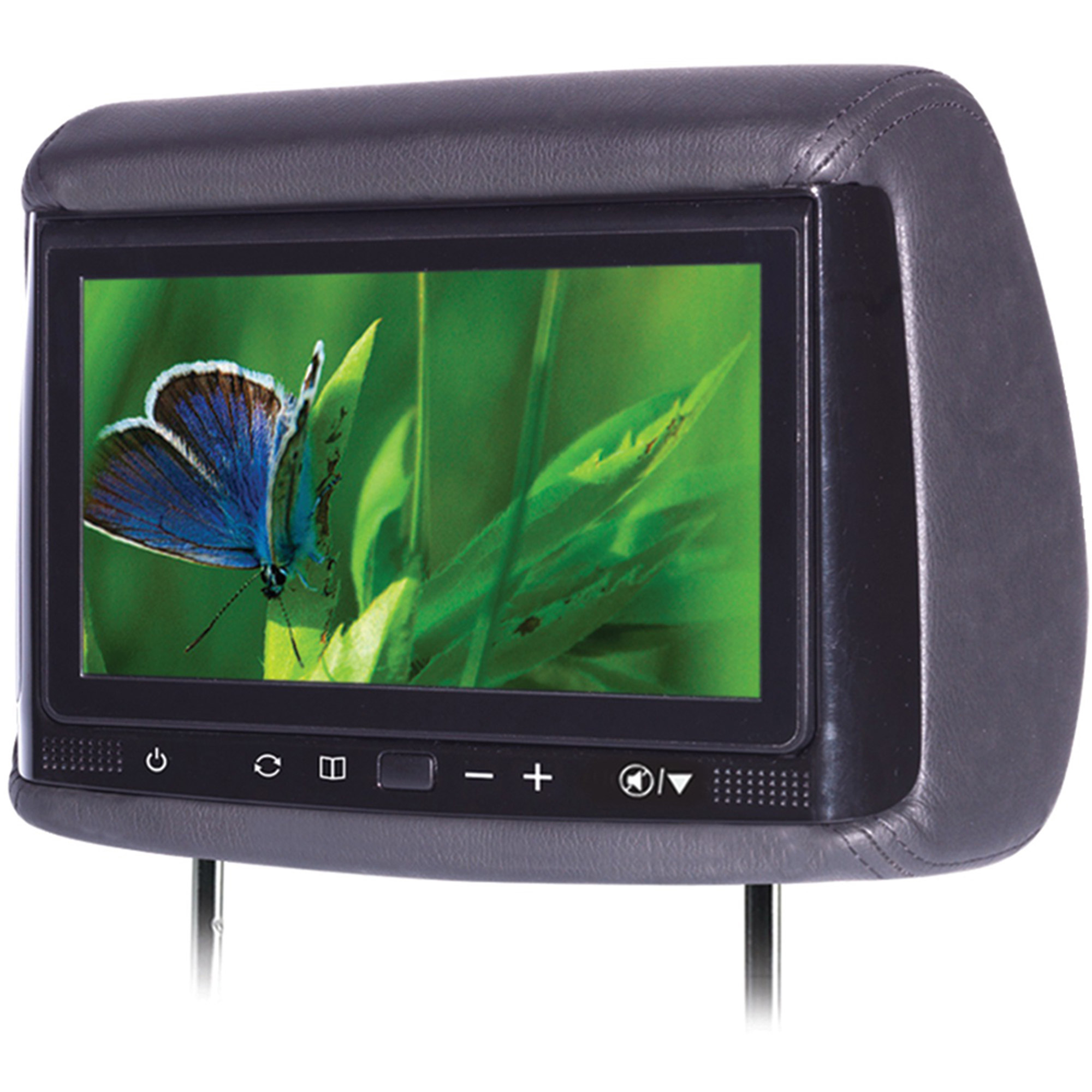 "Concept BSS-705 7"" Chameleon Big Screen LCD Headrest Monitor with 3 Color Covers"