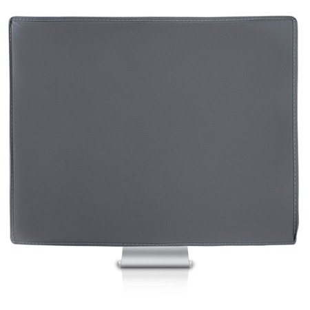 Mosiso Protective Dust Cover for LCD Flat Screen Computer Monitors fits 22-25 Inch Computer,Space Gray Lcd Monitor Dust Cover