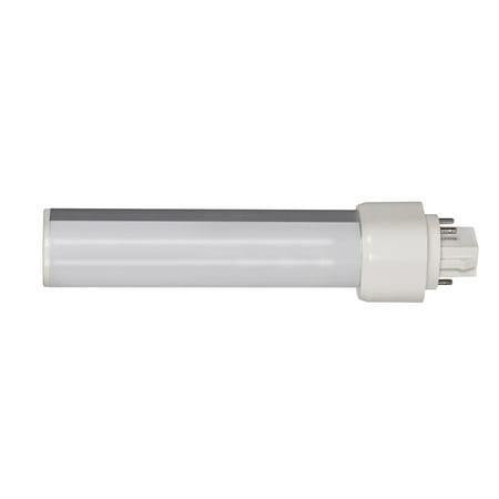 Satco Lighting S29852 Single 9 Watt White PL13 Fluorescent Pin LED (Pig Led)