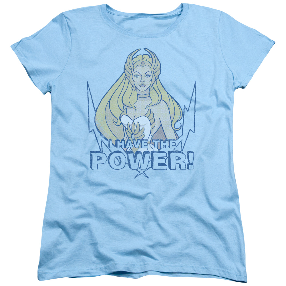 She Ra Power Womens Short Sleeve Shirt