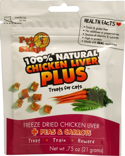 Chicken Liver Plus Single Pack Flavor: Peas and Carrots