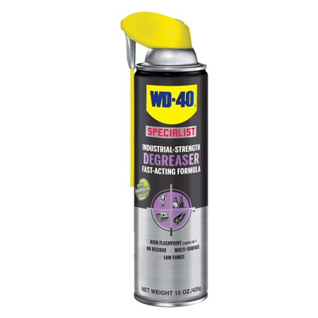 WD-40 Specialist Industrial-Strength Degreaser, 15 Oz
