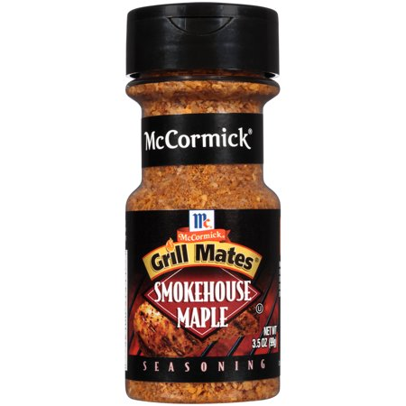 (2 Pack) McCormick Grill Mates Smokehouse Maple Seasoning, 3.5