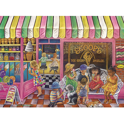 White Mountain Puzzles The Sweetest Day Puzzle, 550 Pieces