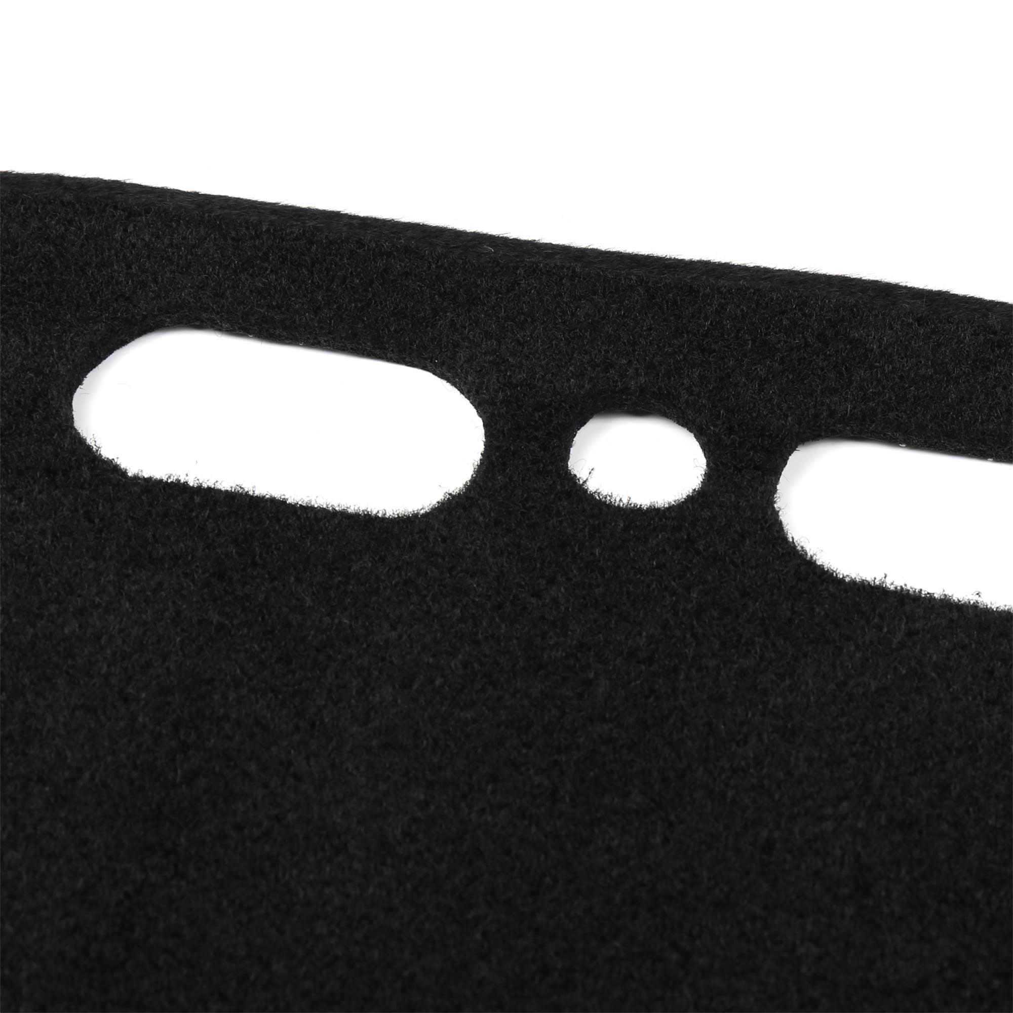 Car Dashboard Cover Nonslip Black Dash Mat Sun Pad for 14-19 Toyota Highlander - image 3 de 4
