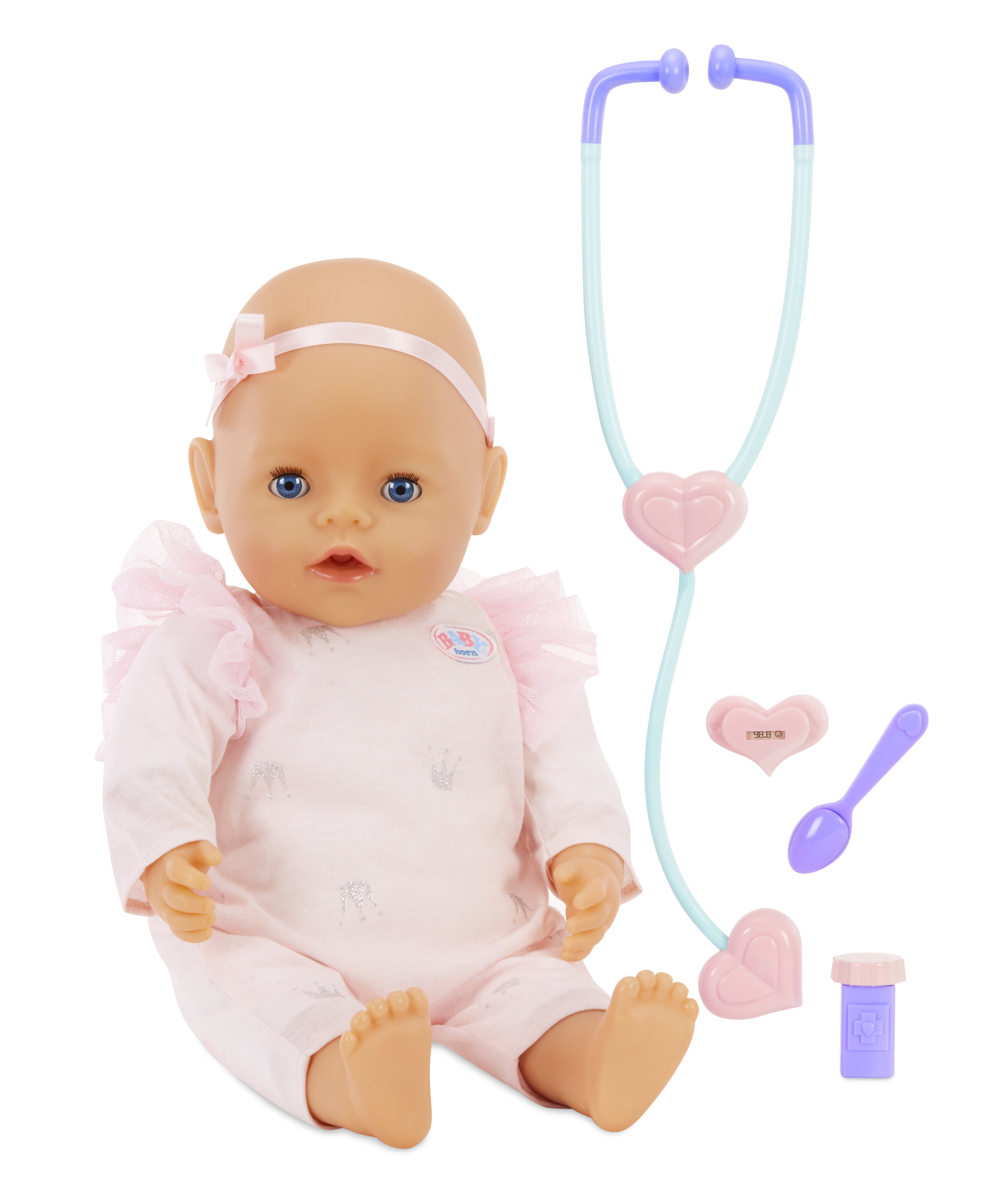 Baby Born Mommy Make Me Better Interactive Baby Doll Blue Eyes by Zapf