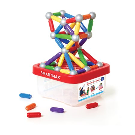 SmartMax Build & Learn Educational Set 100 piece Magnetic Building Toy