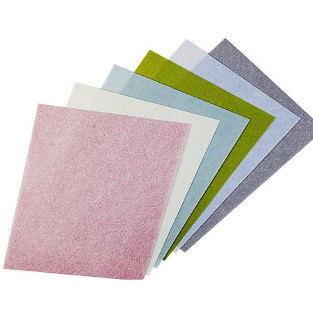 3M TRI-M-ITE PAPER PALE GREEN 8000 GRIT 1 MICRON PALE Green 5 sheets Dry Trimite Paper Sheets