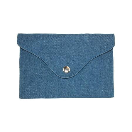 - Denim Flap Front Waist Pack Belt Bag