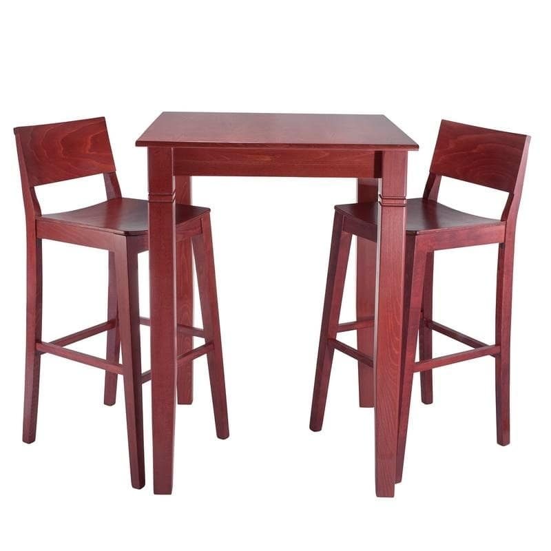 Beechwood Mountain LLC Danish 3-piece Bar Set by Overstock