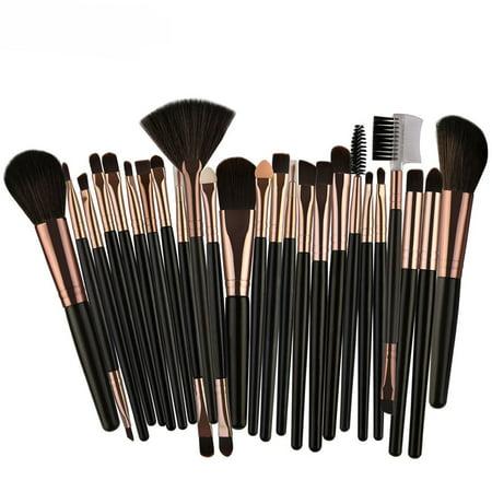 25pcs Cosmetic Eye Makeup Brushes Set Kit Professional Cheap Makeup - Cheap Make Up Kit